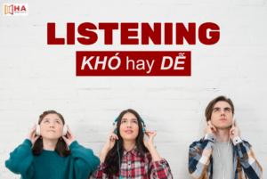 Học Ielts Listening có khó không