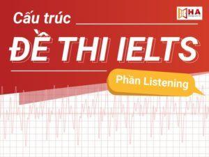 Cấu trúc đề thi IELTS Listening cập nhật mới nhất 2020