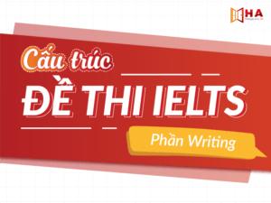 Cấu trúc đề thi IELTS Writing và thông tin chi tiết nhất