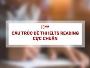 Chi tiết cấu trúc đề thi IELTS Reading 2020