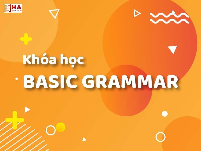 Các khóa học IELTS HACentre tốt Khoa-hoc-basic-grammar