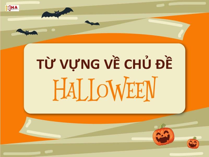 từ vựng tiếng anh Halloween