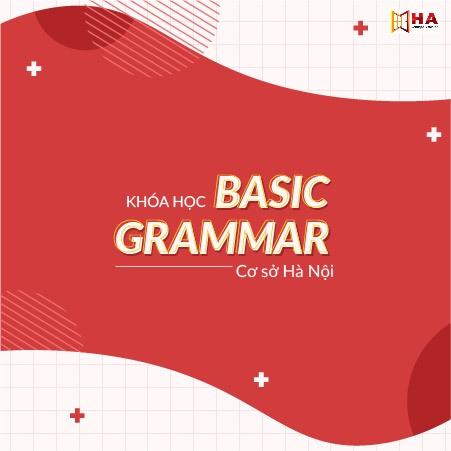 Khóa học IELTS Basic Grammar 26 Hà Nội