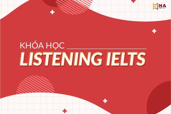 khóa học ielts listening