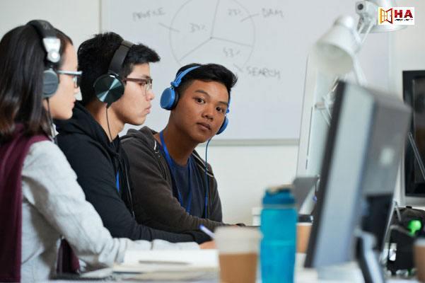 khóa học ielts listening tại HA Centre