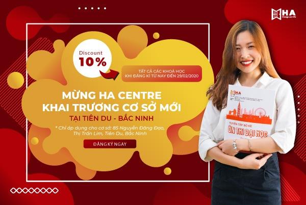 Khai trương cơ sở Tiên Du Bắc Ninh