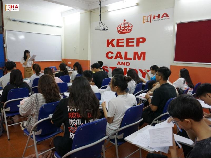 GIờ học của khóa học IELTS Bắc Ninh