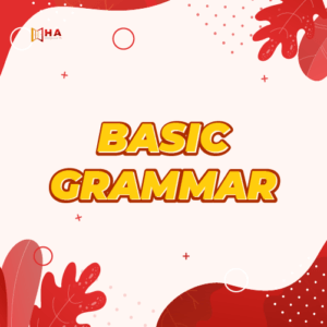 khóa học IELTS Basic Grammar