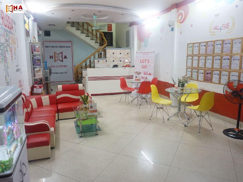 không gian trung tâm luyện thi ielts Từ Sơn Bắc Ninh
