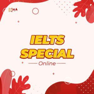 Khóa IELTS Special Online tại trung tâm Anh Ngữ HA Centre