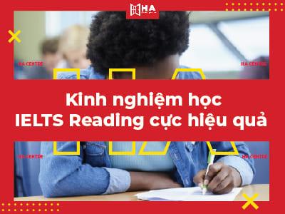 kinh nghiệm luyện thi ielts reading