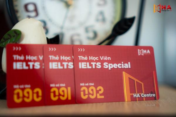 Thẻ khóa học IELTS Special