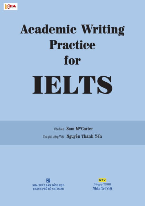 Bộ 3 cuốn Academic writing practice for IELTS của Sam Mccarter