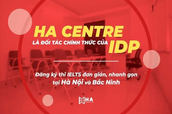 Thông báo: HA Centre chính thức trở thành đối tác của IDP