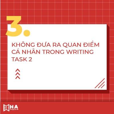 Các lỗi thường gặp trong Writing Task 2
