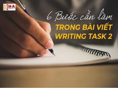 Hướng dẫn cách làm Writing Task 2 chi tiết nhất