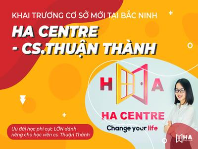 Khai trương trung tâm tiếng anh Thuận Thành Bắc Ninh HA Centre