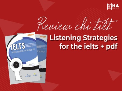 Review chi tiết sách Listening Strategies for the IELTS + pdf