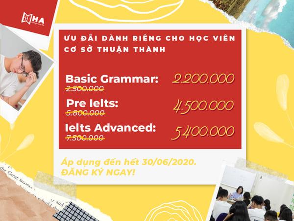 Ưu đãi cơ sở mới Thuận Thành Bắc Ninh