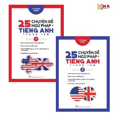 Review cuốn sách 25 chuyên đề ngữ pháp Tiếng Anh trọng tâm