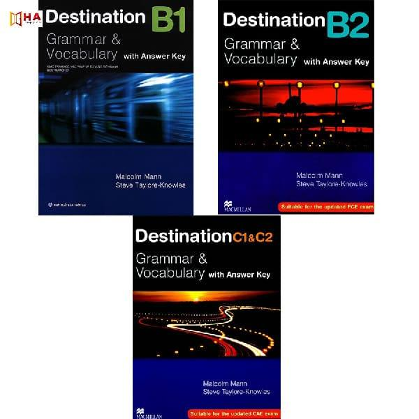 cuốn sách Destination B1 Grammar & Vocabulary