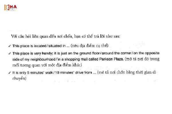 hướng dẫn cách trả lời ielts speaking part 2