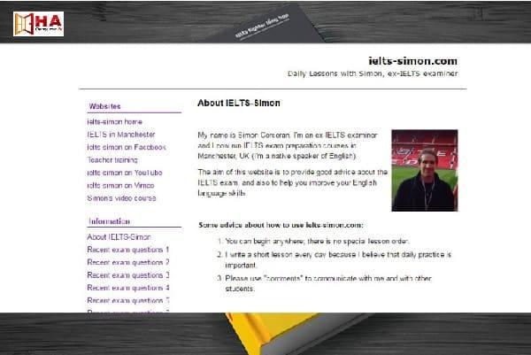 Phần mềm IELTS Simon luyện thi ielts trên máy tính