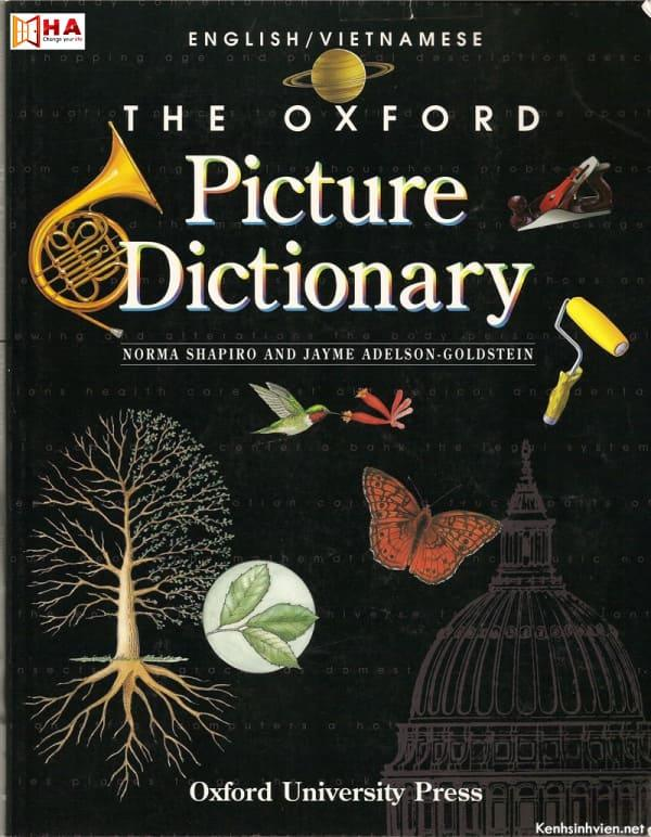 sách học ielts 5.0 the oxford picture dictionary