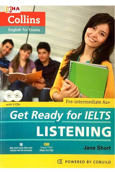 sách luyện listening ielts get ready for ielts