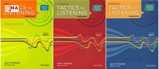 sách luyện listening ielts tactics for listening