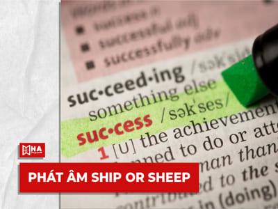 Review + PDF Ship or Sheep - Cuốn sách hoàn hảo luyện phát âm IELTS
