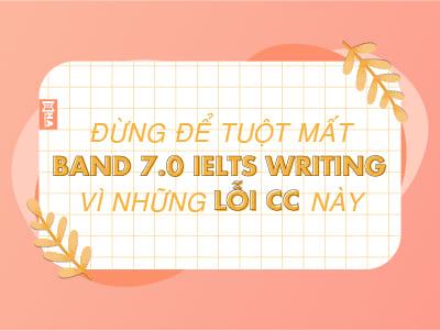 Đừng để tuột mất band 7.0 IELTS Writing vì lỗi Cohesion and coherence