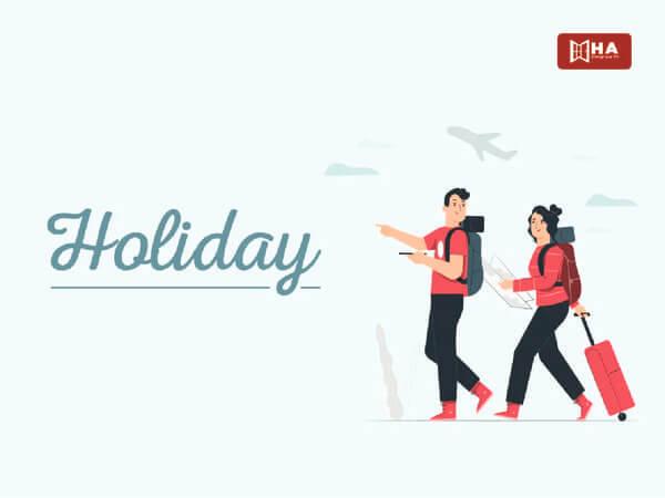 từ vựng ielts chủ đề holiday