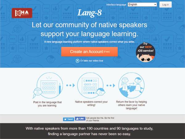 Trang web sửa writing Lang – 8