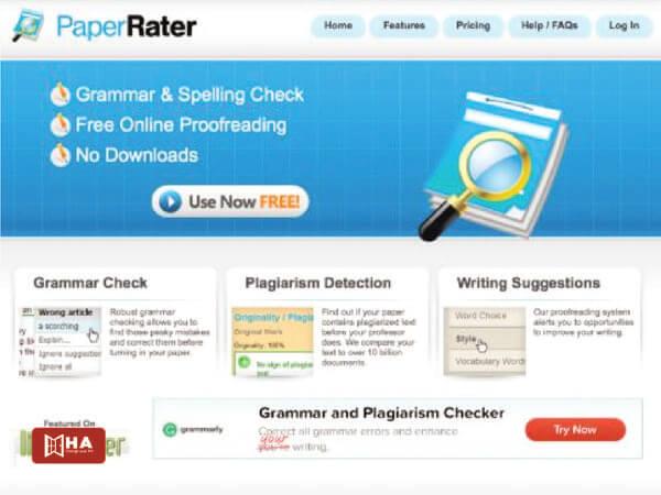 Website Paper Rater