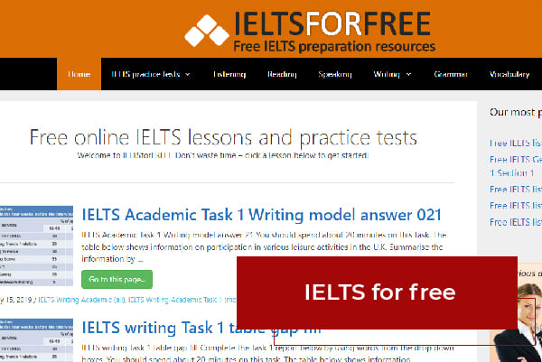 Web IELTS For Free
