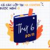 Thông báo nghỉ tất cả các lớp tại HA Centre ngày 20.11