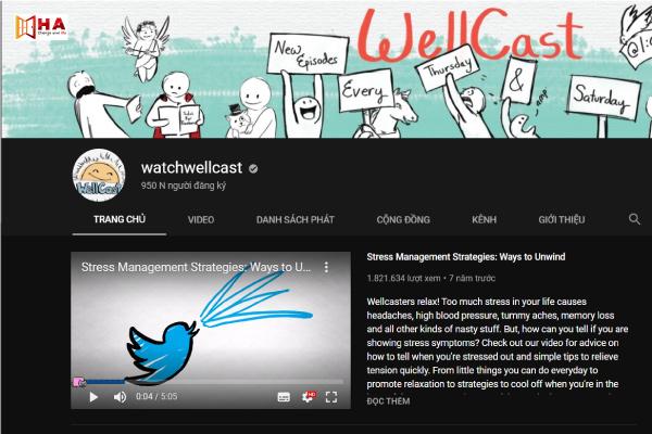 kênh youtube học tiếng anh hiệu quả Kênh watchwellcast