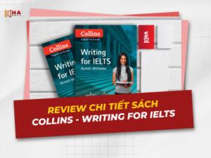 Review chi tiết sách Collins Writing For IELTS PDF miễn phí