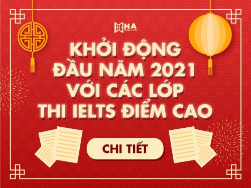 Khai giảng khóa học tháng 1/2021 tại HA Centre