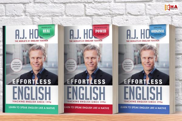 sách luyện phát âm tiếng Anh Bộ sách Effortless English của A.J. Hoge