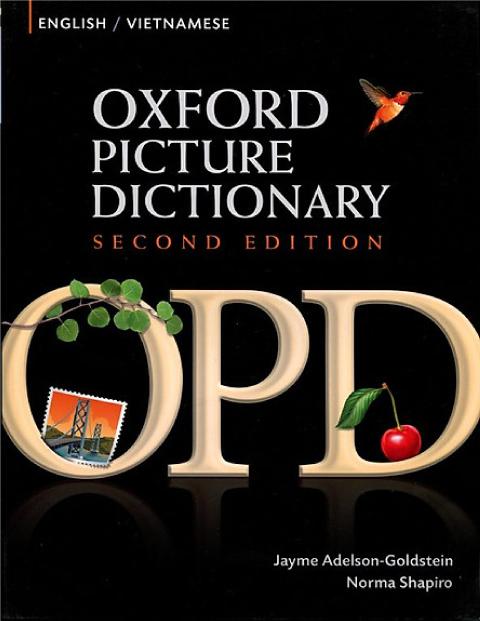 sách học Tiếng Anh cơ bản Oxford Picture Dictionary
