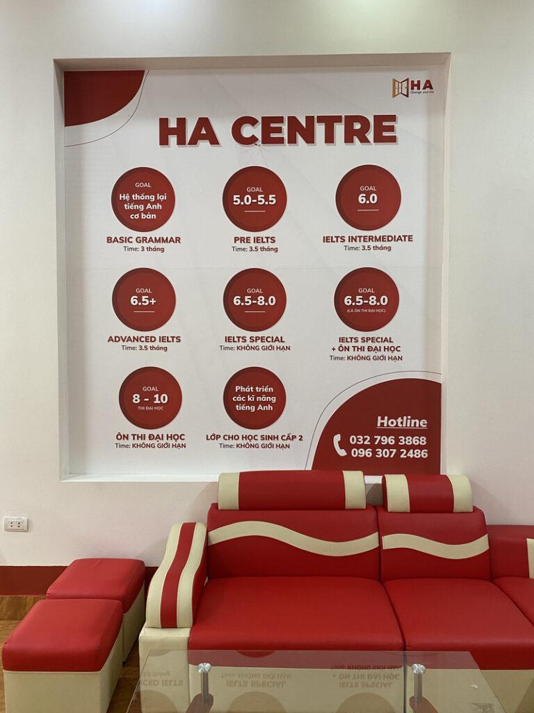 HA Centre cơ sở TP Bắc Ninh chính thức khai trương đi vào hoạt động 6