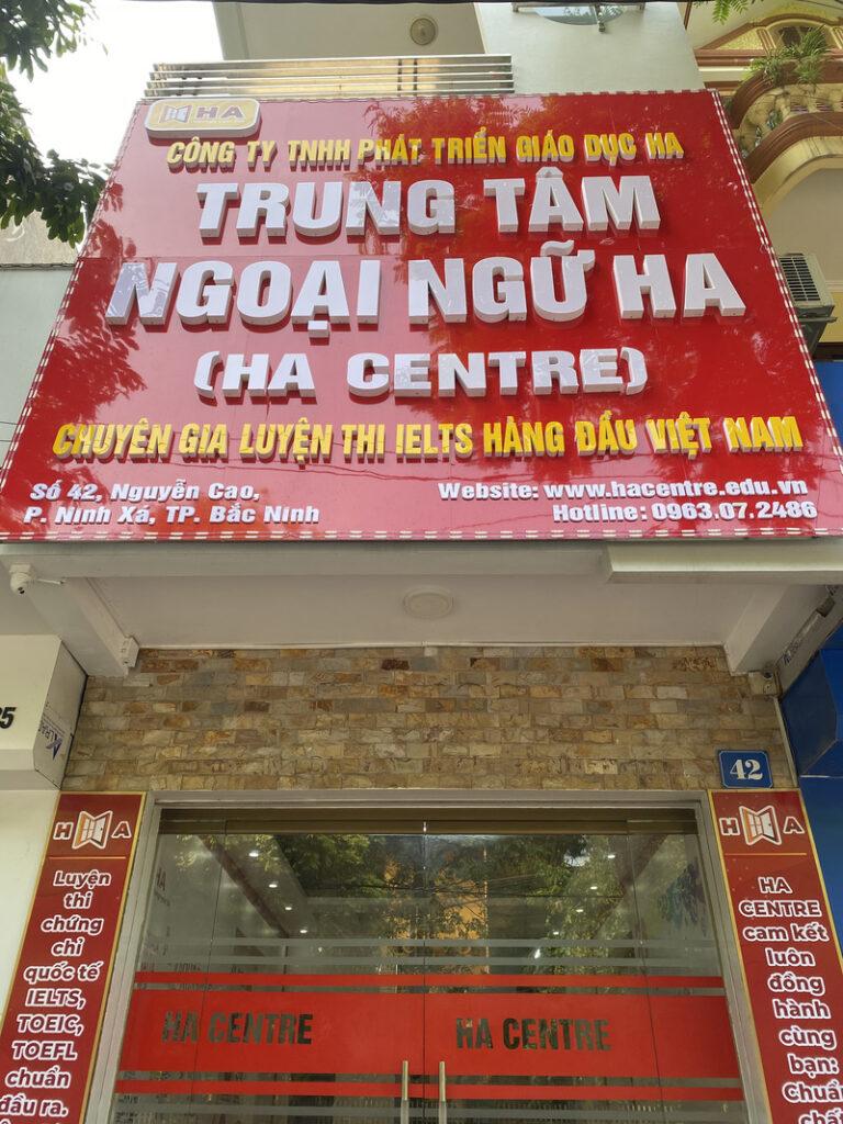 HA Centre cơ sở TP Bắc Ninh chính thức khai trương đi vào hoạt động 3