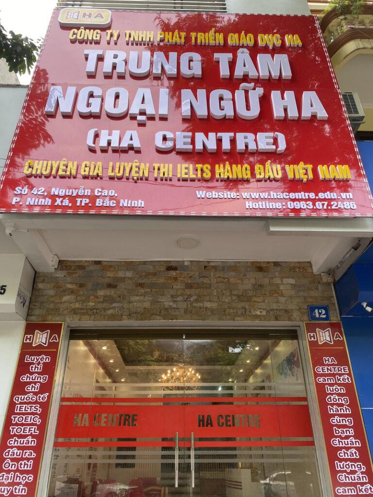 HA Centre cơ sở TP Bắc Ninh chính thức khai trương đi vào hoạt động 4
