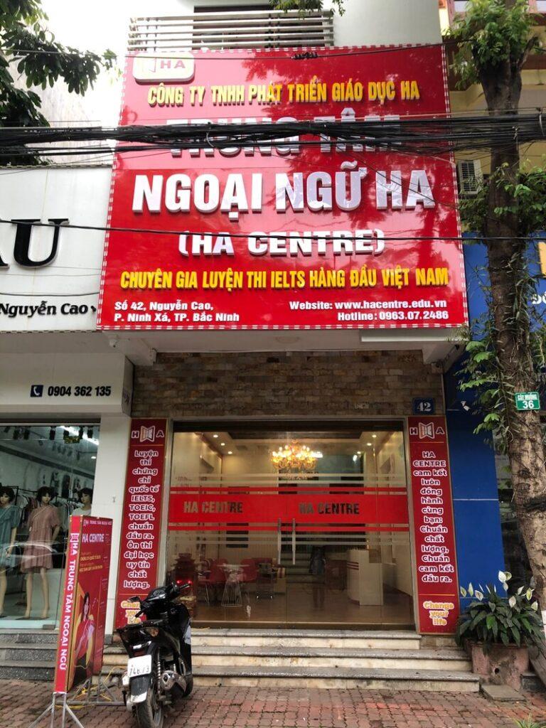 HA Centre cơ sở TP Bắc Ninh chính thức khai trương đi vào hoạt động 1