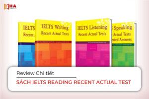 Trọn bộ sách IELTS Reading Recent Actual Test Vol 1, 2, 3, 4, 5, 6