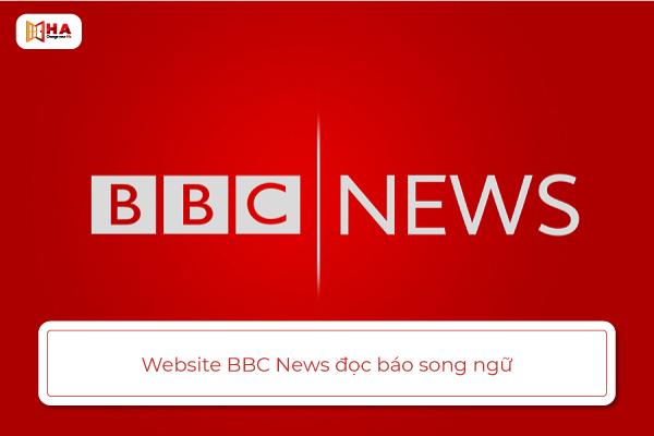 trang web đọc báo bằng tiếng anh BBC News