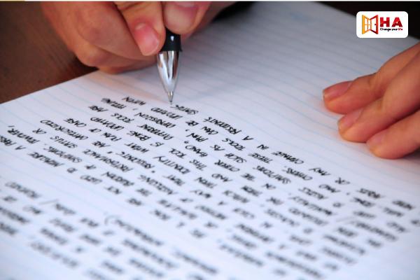 cách tránh lặp từ trong Writing IELTS