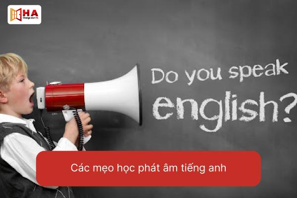 Các mẹo phát âm trong tiếng Anh